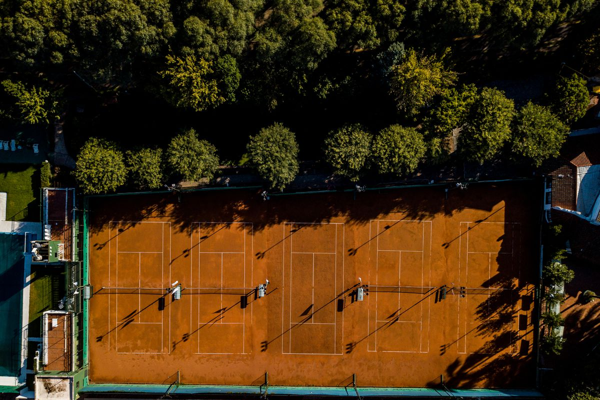 Aerial Views of Buenos Aires During Lockdown