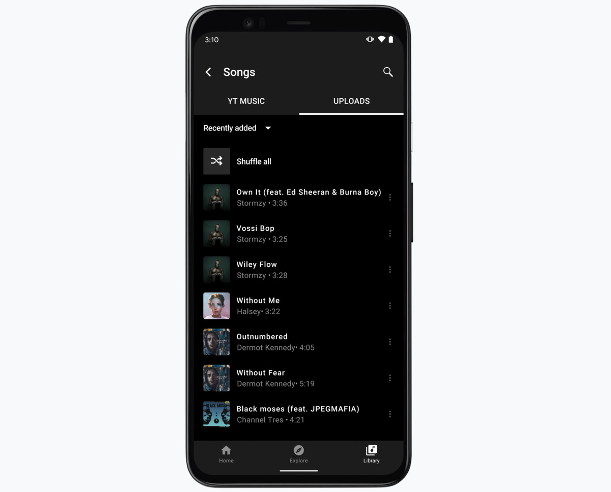 Cómo transferir tu biblioteca de Google Play Music a YouTube Music