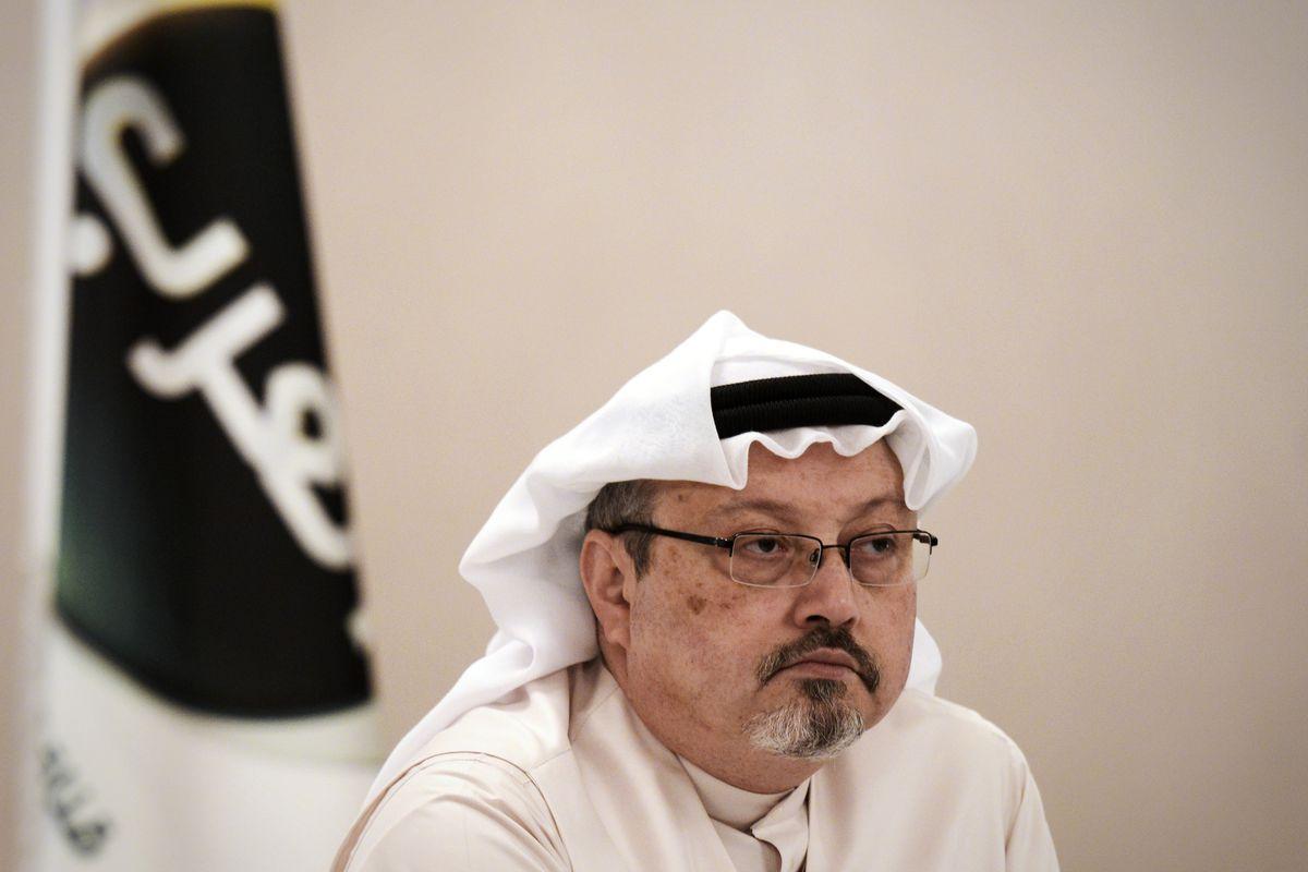 Saudi dissident and journalist Jamal Khashoggi, who Saudi Arabia said on October 19, 2018, was killed in Istanbul two weeks earlier.