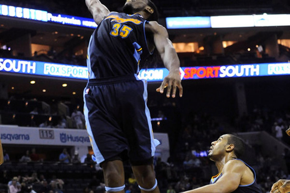 Need more of this from Kenneth Faried.