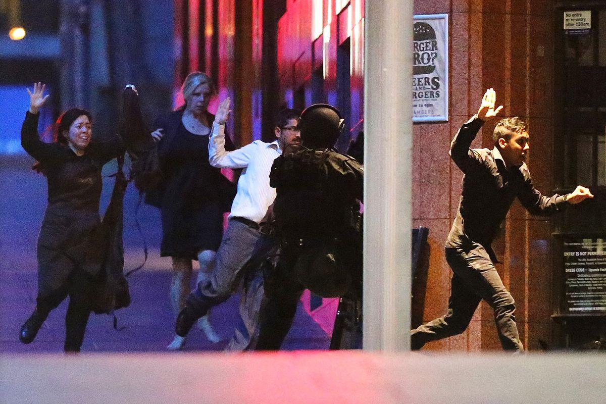 sydney hostage