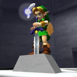 <em>The Legend of Zelda: Ocarina of Time</em> on Nintendo 3DS