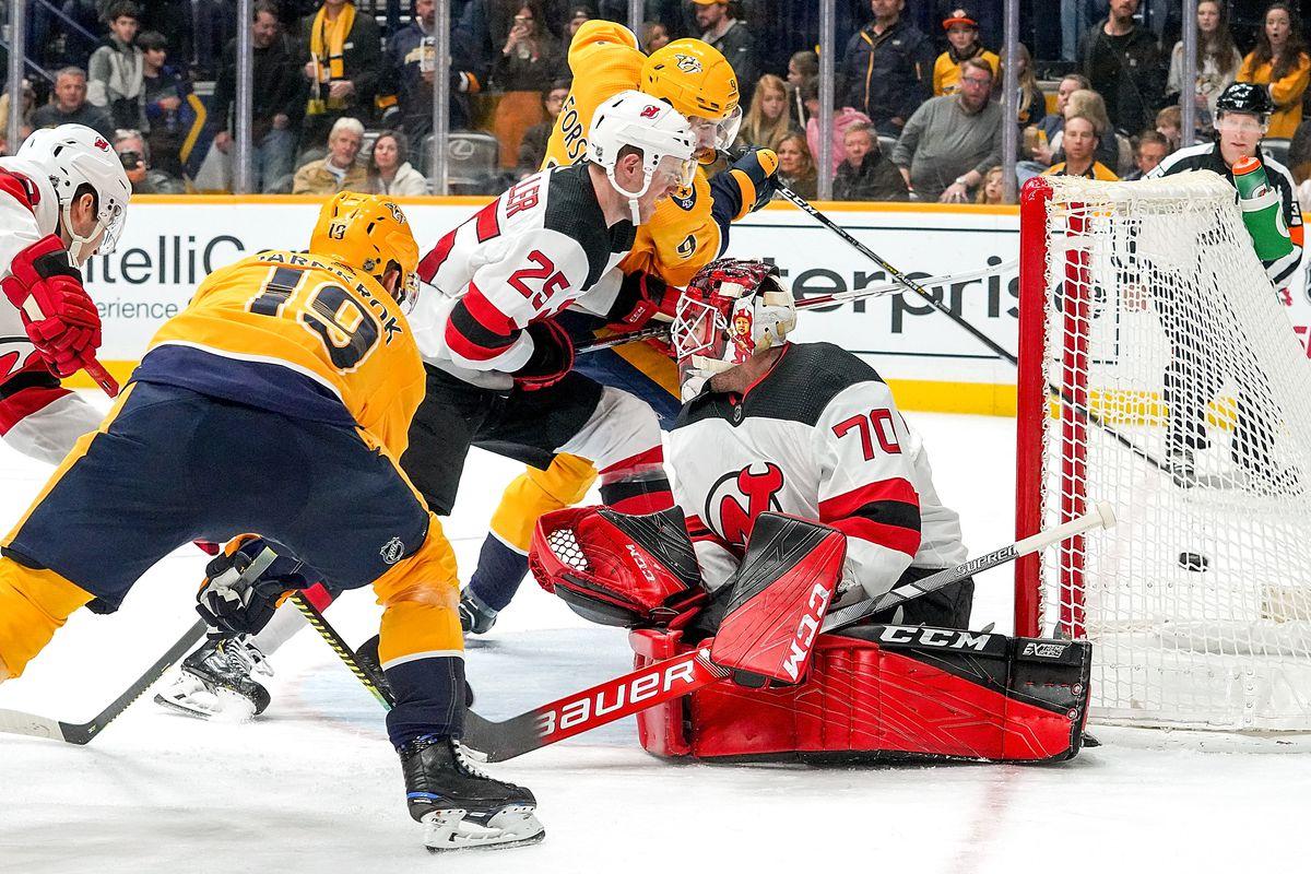 New Jersey Devils v Nashville Predators