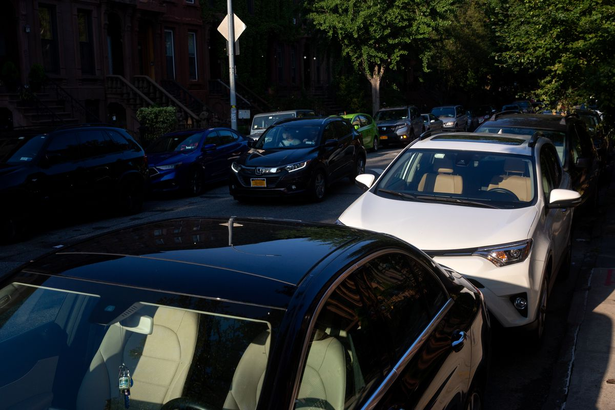 The city has seen a bump in car registrations during the summer, Aug. 8, 2020.