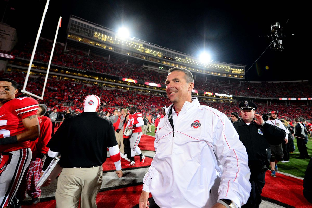 Don't expect any future Ohio State-Michigan games to end at this time of day.