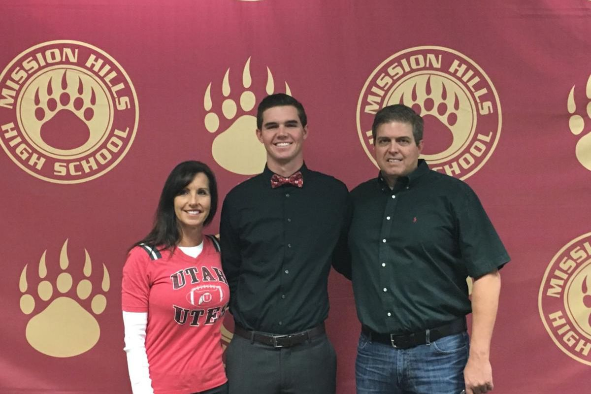 Four-star quarterback prospect Jack Tuttle signed a Letter of Intent with the Utes on Wednesday.