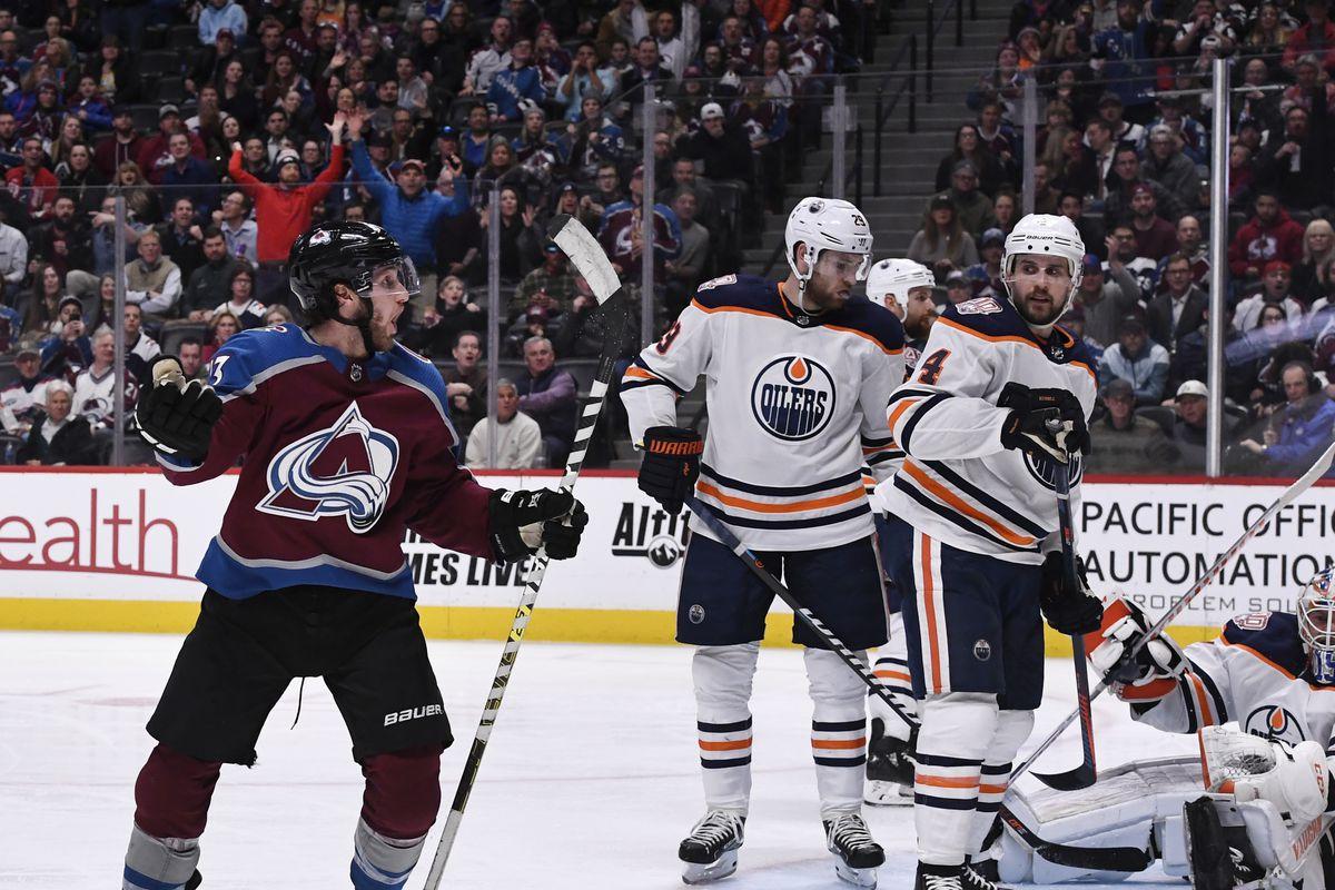 Colorado Avalanche vs Edmonton Oilers