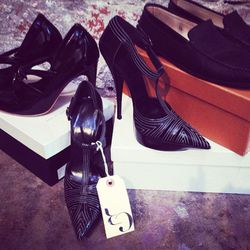 Balenciaga heels, $400.