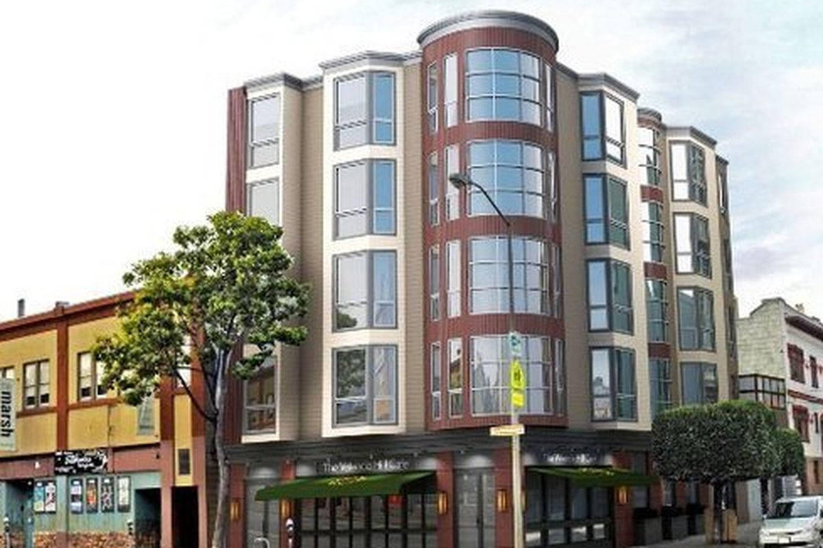 """The new """"more suitable"""" plan for 1050 Valencia Street."""