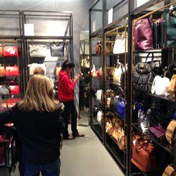 The handbag section