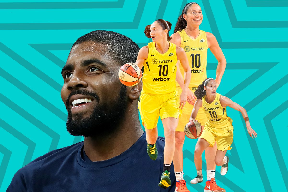 5bc17432b22c How Sue Bird and Kyrie Irving became basketball s best point guard  friendship