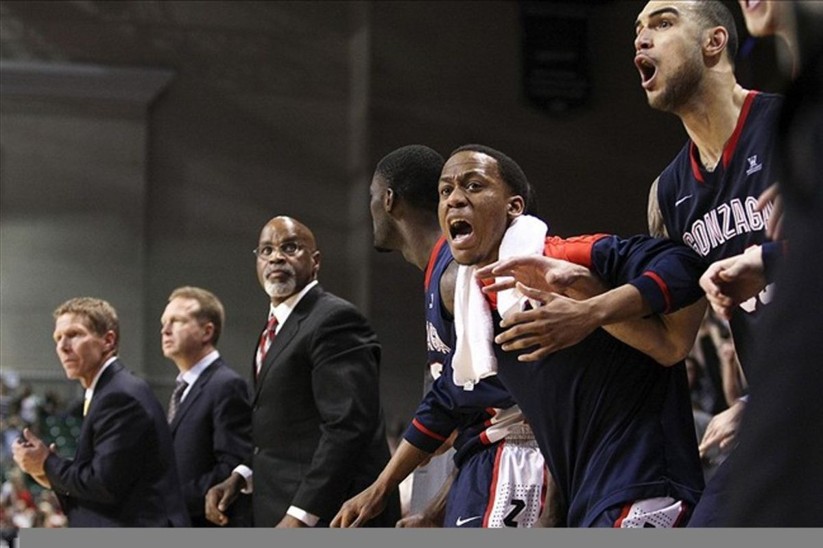 The Gonzaga coaching staff has hit the road and is attracting some big names...