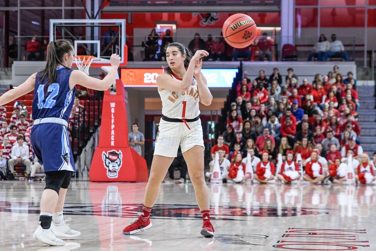 NCAA BASKETBALL: MAR 23 Div I Women's Championship - First Round - Maine v NC State