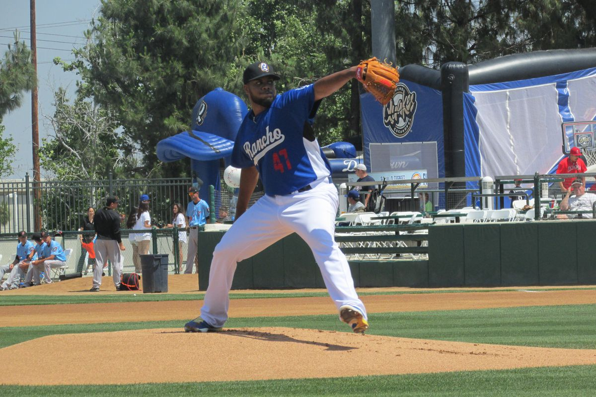 Kenley Jansen, seen here pitching on May 3, has completed his minor league rehab assignment.