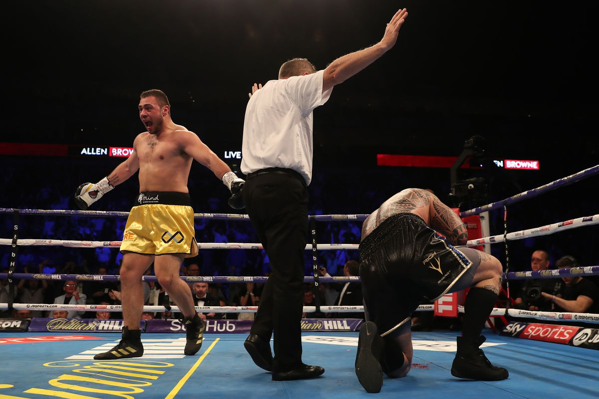 Dave Allen knocks out Lucas Browne in third round