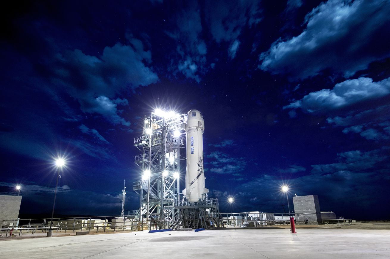 blue origin will push its rocket to its limits with high altitude emergency abort test today