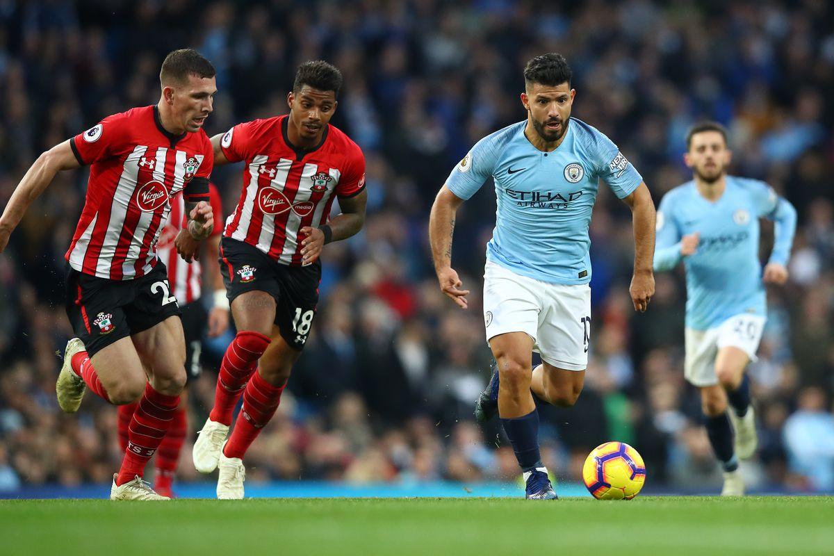 Fc Southampton Gegen Man City