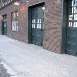 The 6th Street loading dock will function as a patio during the summer.