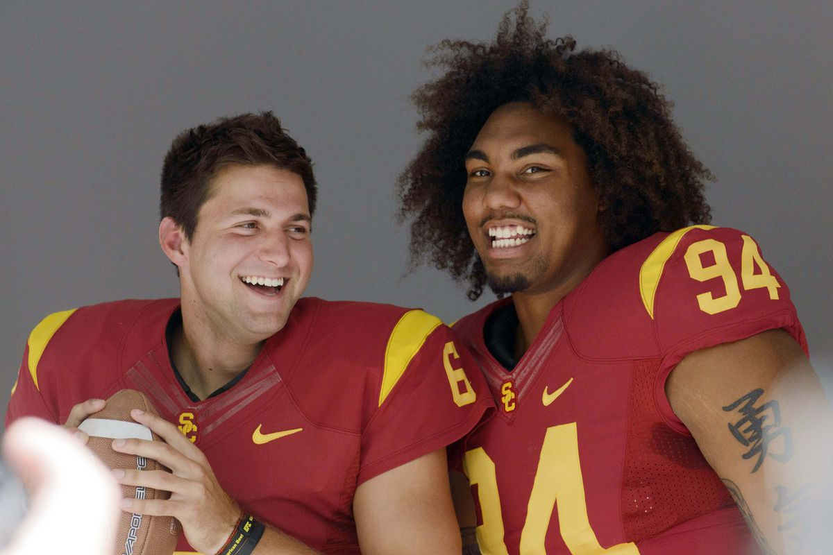 Led by the captains, USC is ready to explode