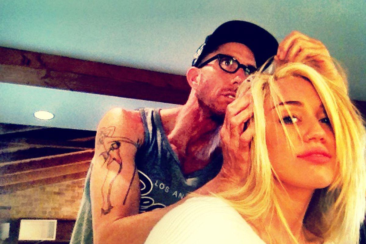 "Photo via Miley Cyrus/<a href=""https://twitter.com/MileyCyrus/status/231897251688087552/photo/1"">Twitter</a>"