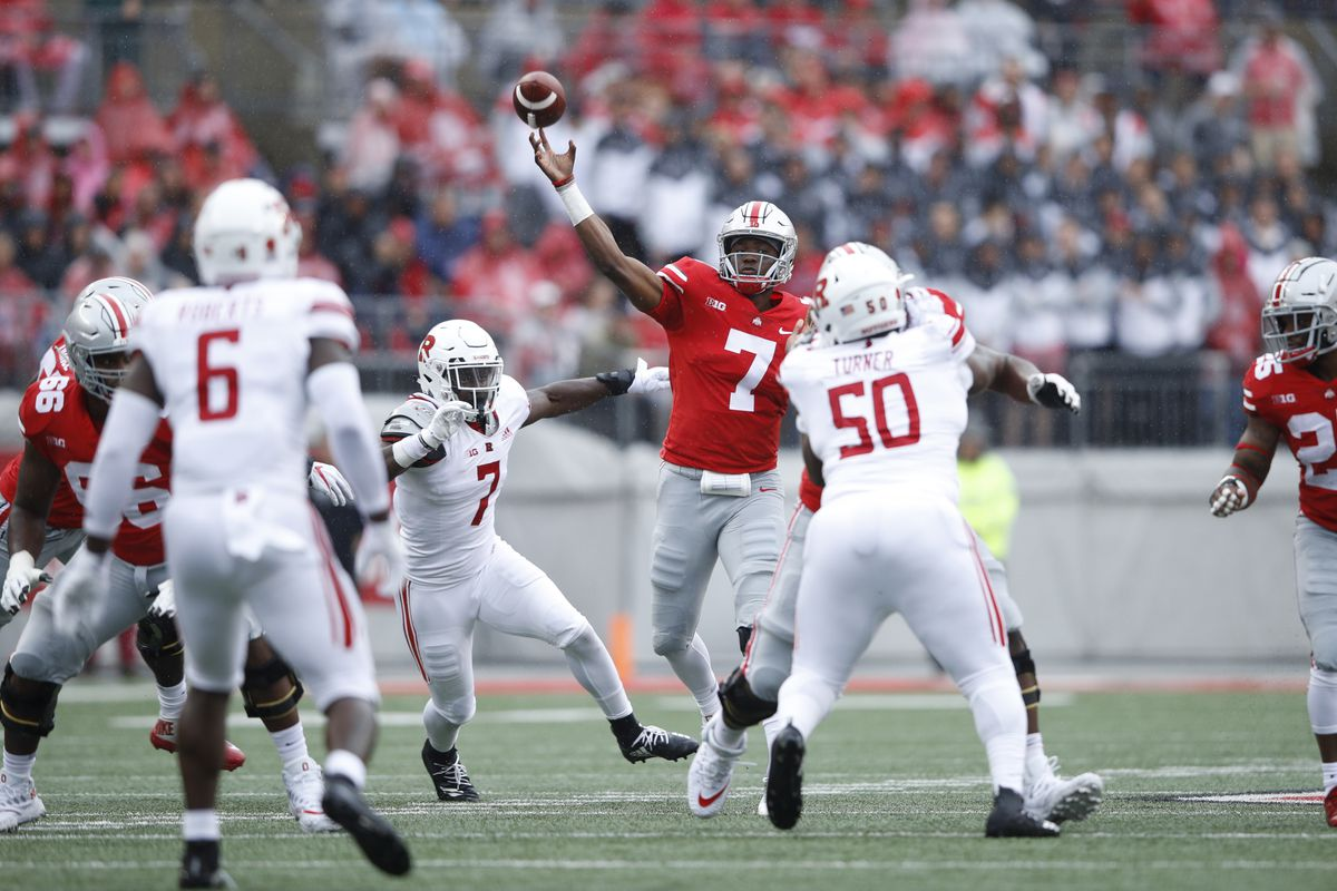 93c32f45a3b Ohio State Throttles Rutgers Once Again 52-3 - On the Banks