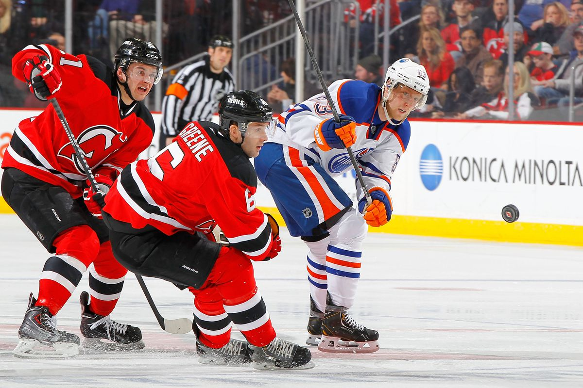 A guy like Ales Hemsky might look nice in red and black, but would he be worth the price?