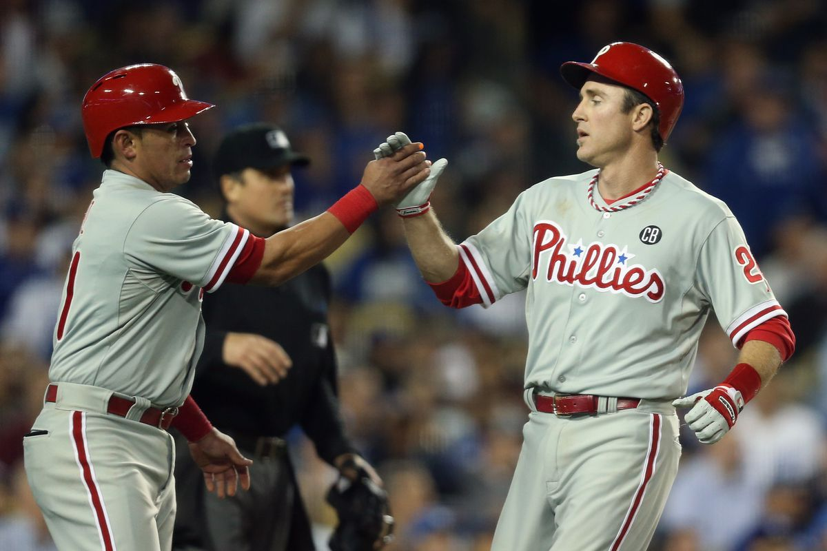 I want a high five from Chase Utley so bad. A high five, and maybe more...