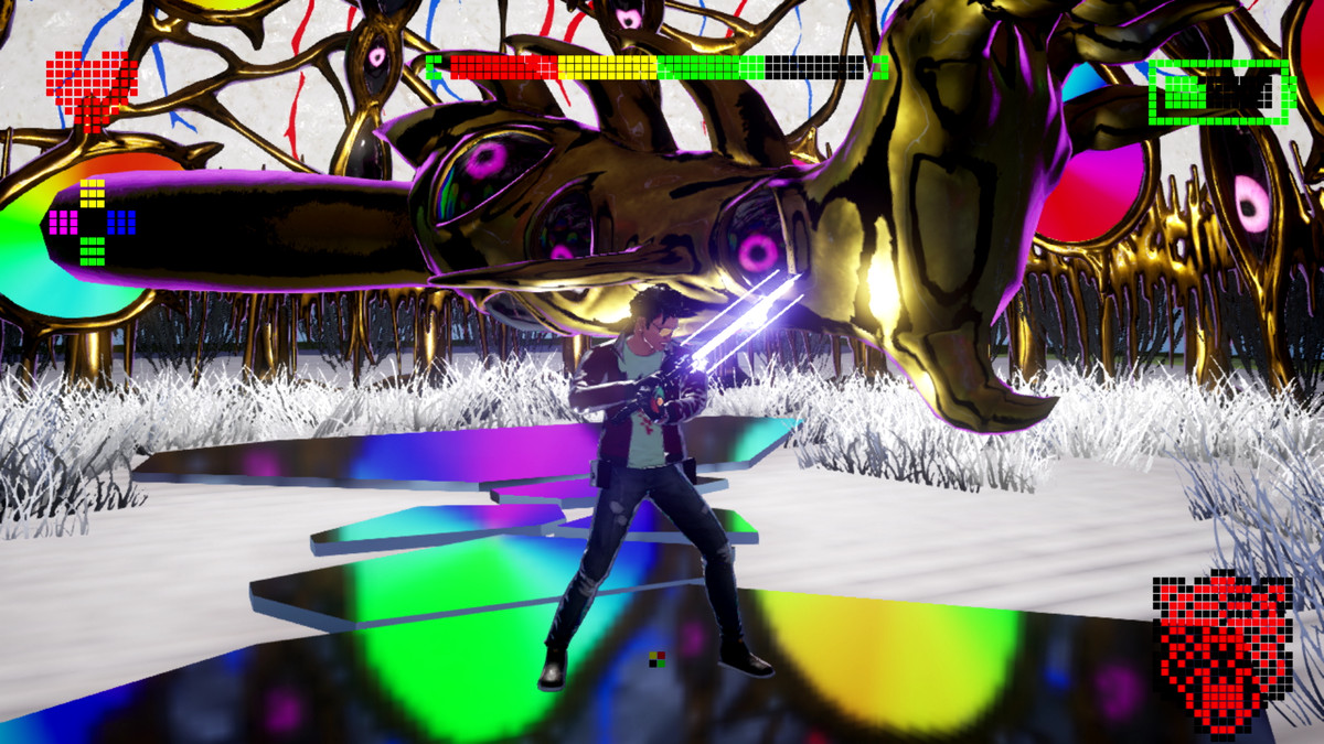 The Prince FU boss battle in No More Heroes 3