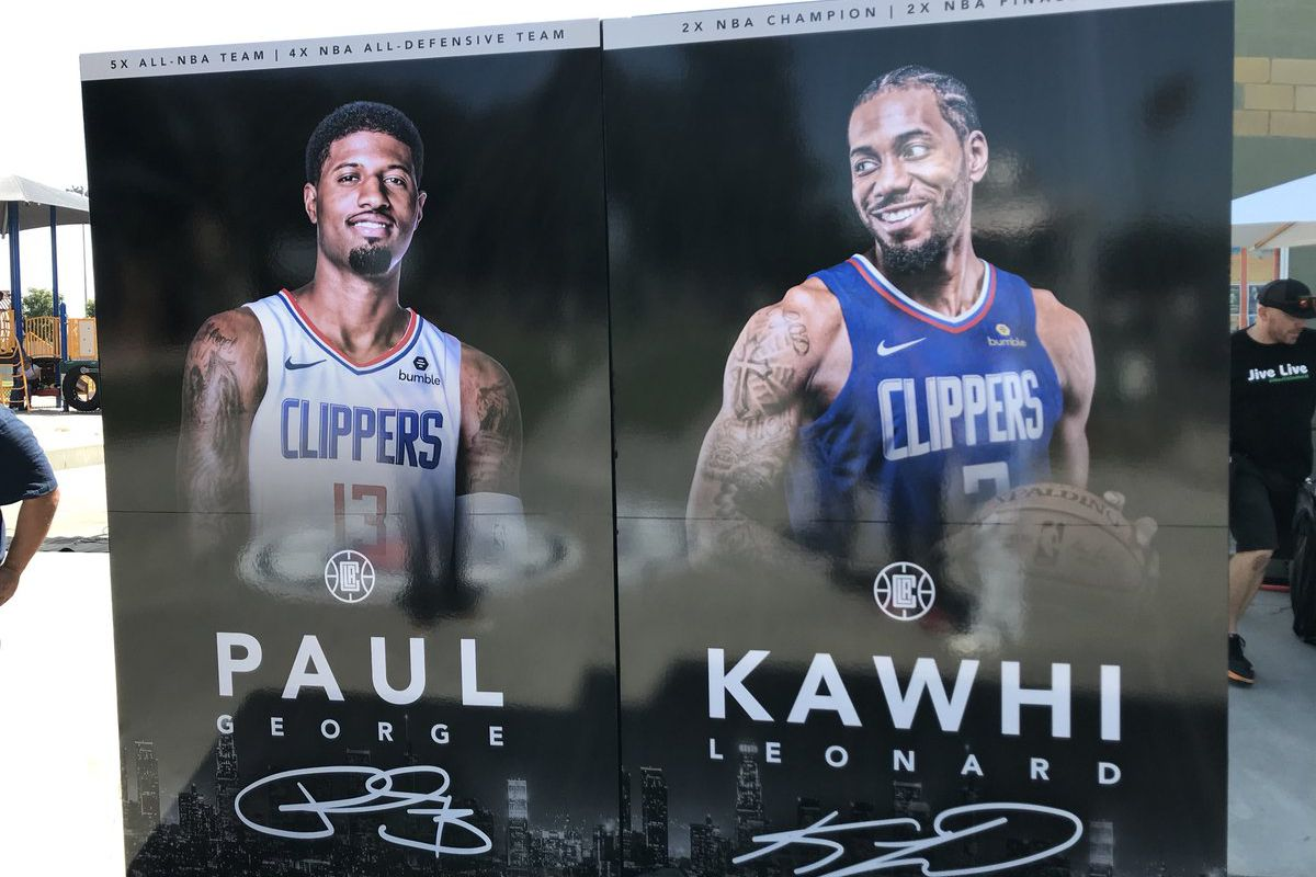Clippers Introduce Kawhi Leonard And Paul George How To