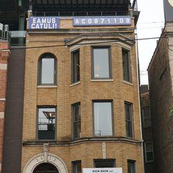"The ""EAMUS CATULI"" building"