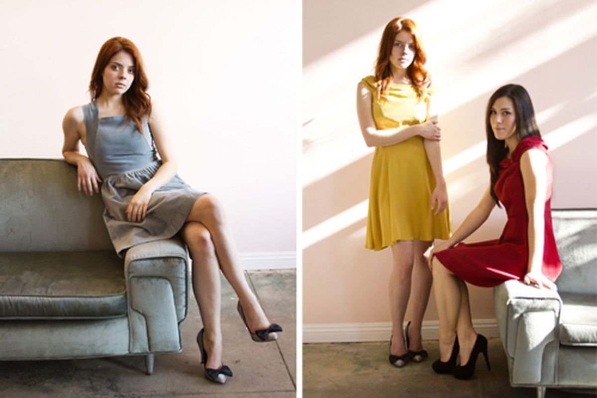 """Images from Myrtle's new lookbook via <a href=""""http://shopmyrtle.tumblr.com/"""">Myrtle</a>/Tumblr."""