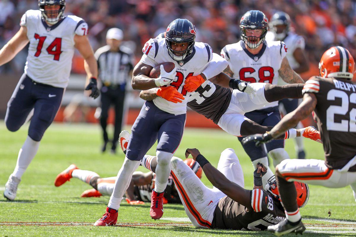 NFL: SEP 19 Texans at Browns
