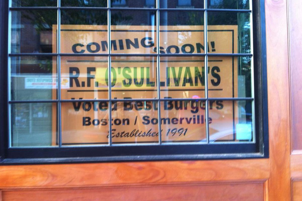 R.F. O'Sullivan's in Lynn
