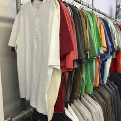 Cremieux tees and polos, $39