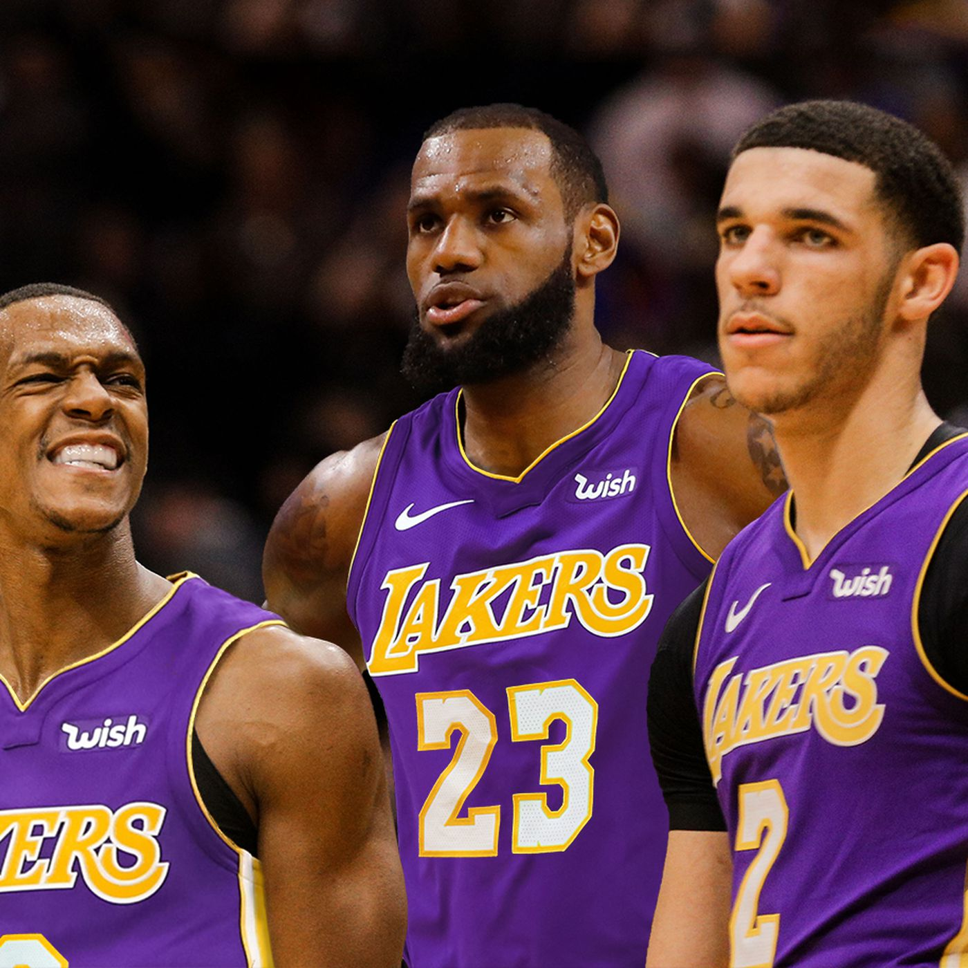 outlet store 0a5bc d5e94 Lakers Video: LeBron James, Lonzo Ball, & Rajon Rondo - Best ...