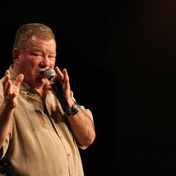 William Shatner hosts a Q&A panel at Salt Lake Comic Con. With more than 50,000 tickets sold, Comic Con goers filled the convention halls to the max during the final day of the convention.