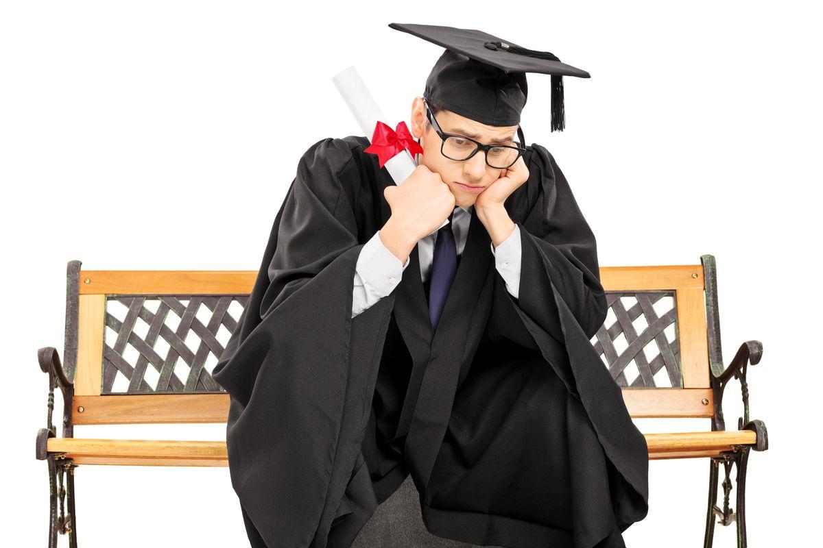 A sad academic