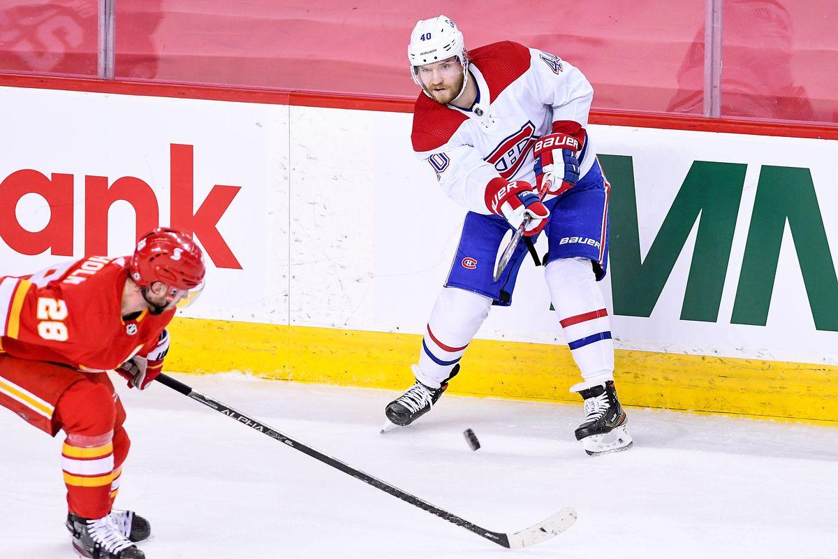 NHL: MAR 13 Canadiens at Flames