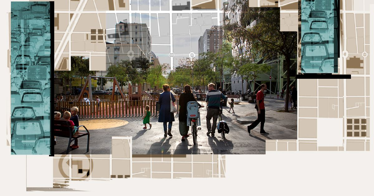 Cars dominate cities today. Barcelona has set out to change that.