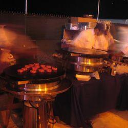 Umami Burger's cooking gear