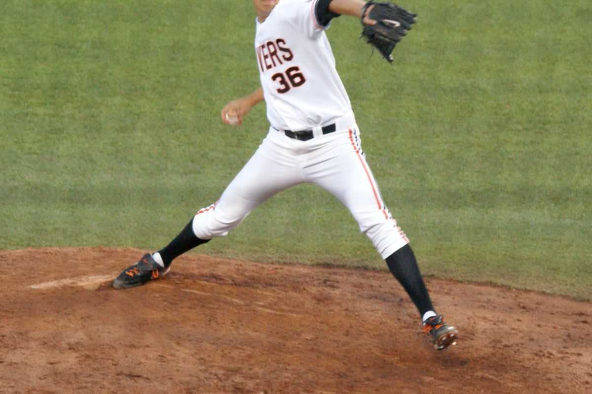 Tony Bryant, who has been named a Pre-Season All-American, will lead Oregon St. this season. The Beavers are ranked #24 in the Collegiate Baseball Pre-season poll, one of 7 Pac-12 teams in the top 30. <em>(Photo by Andy Wooldridge)</em>