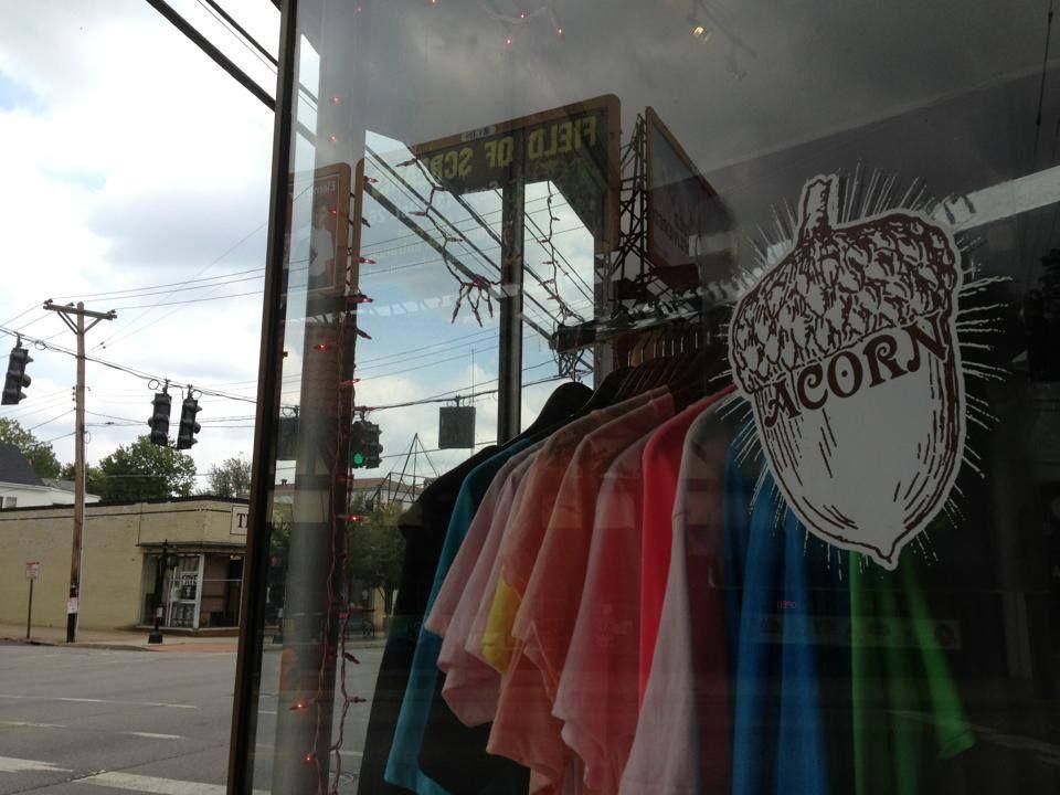 Acorn Vintage Window Display