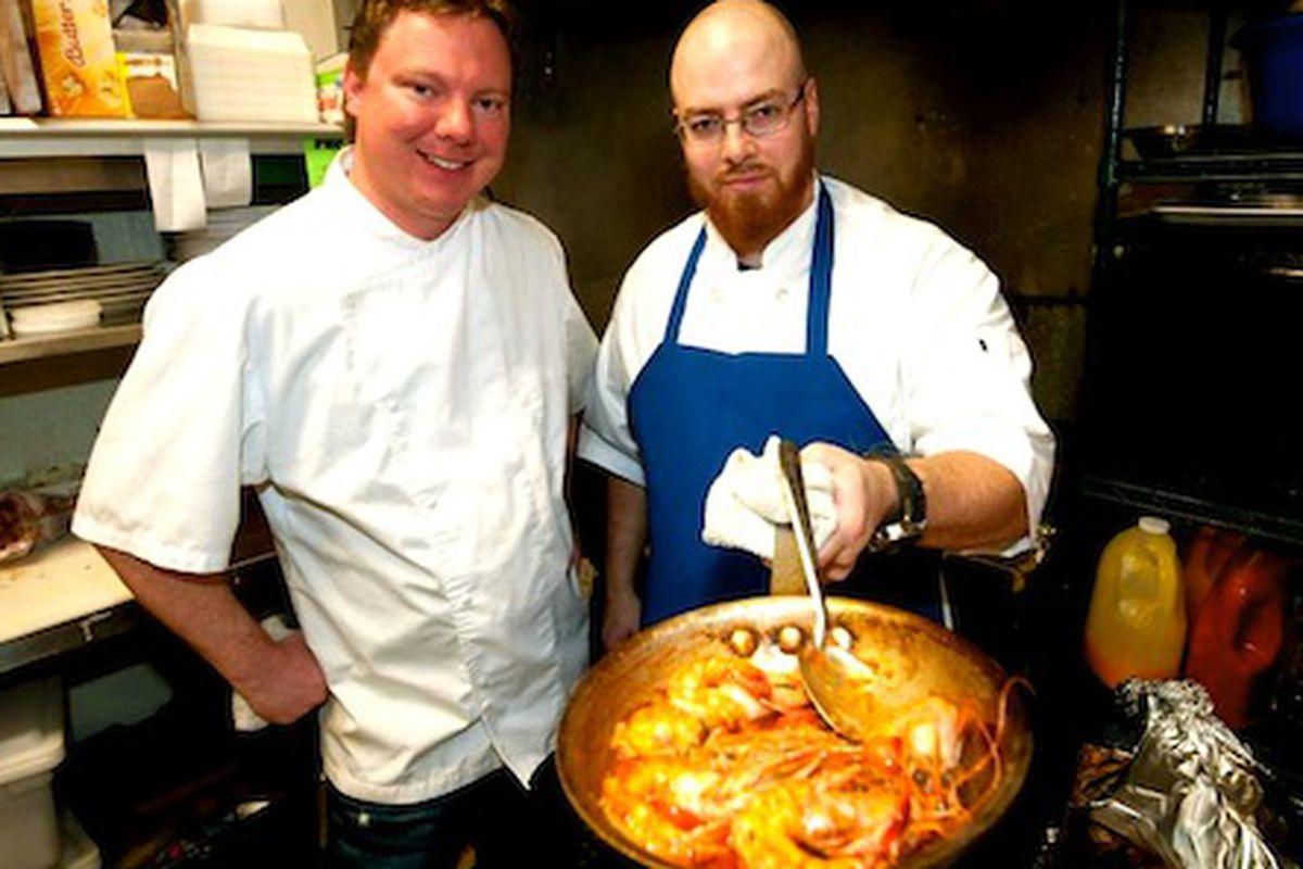 Chefs Ben McPherson & Matt Wommack