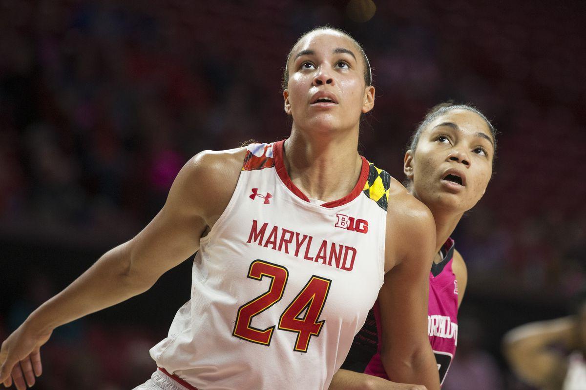 COLLEGE BASKETBALL: FEB 07 Women's Northwestern at Maryland