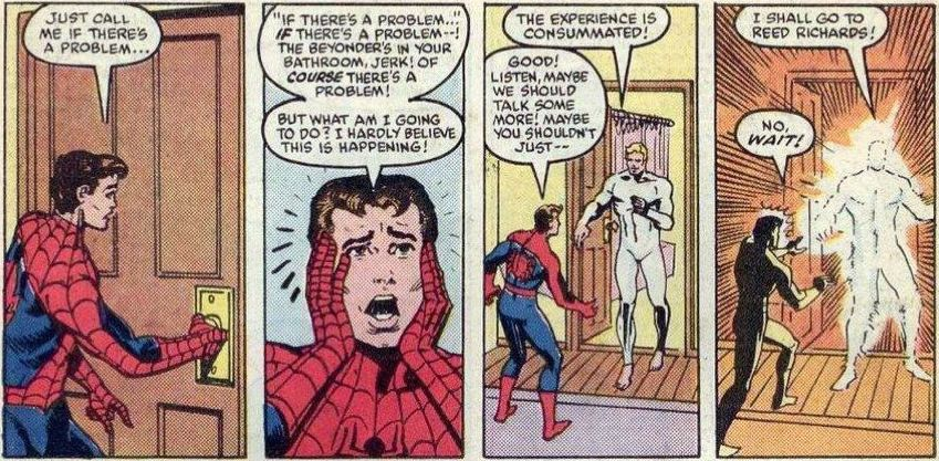 Spider-Man and the Beyonder