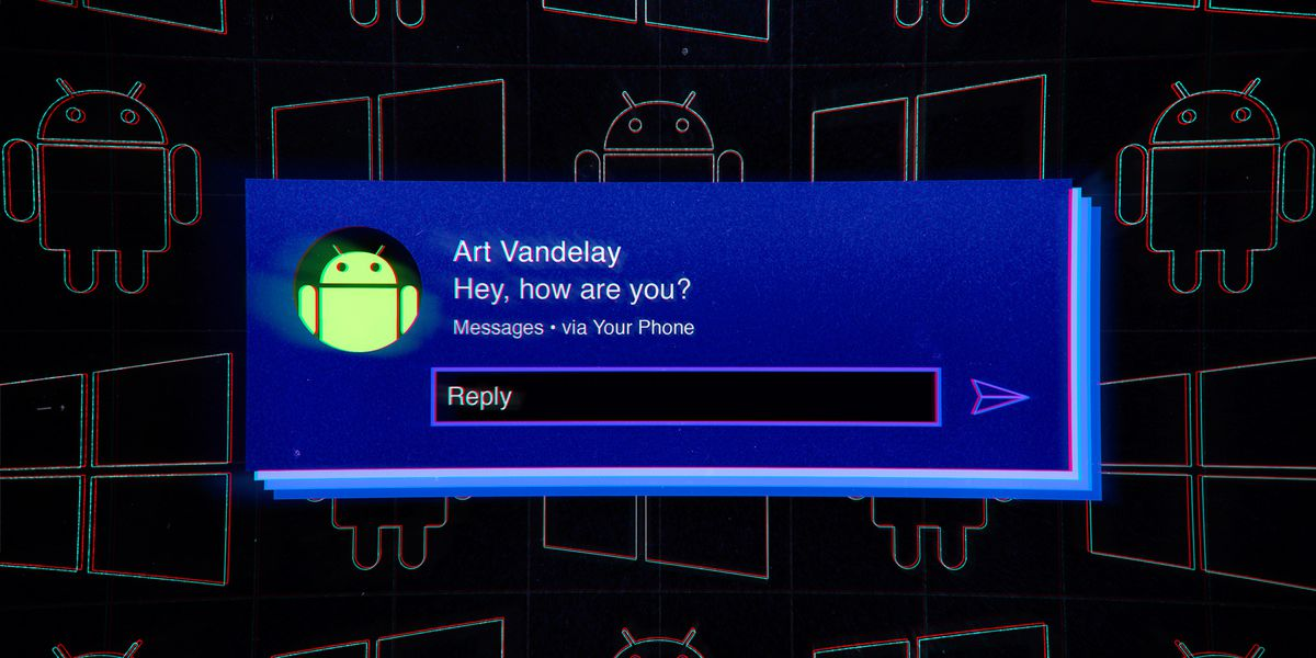 How to check your Android phone's notifications on a Windows