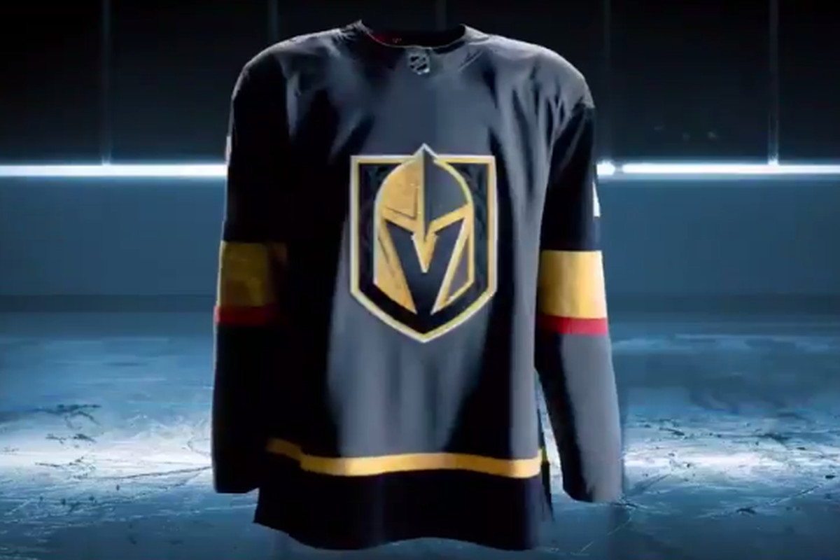 new arrivals d0d4c e08b5 Vegas Golden Knights reveal first home jersey at Adidas ...