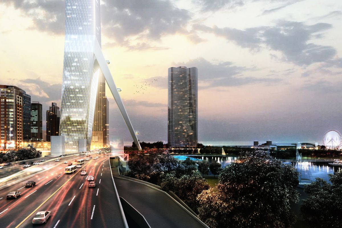 A Look At Genslers 2000 foot Conceptual Design For The
