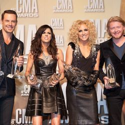 Little Big Town win for Group of the Year and also Best Female Hair