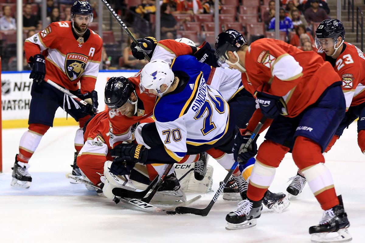 St Louis Blues v Florida Panthers